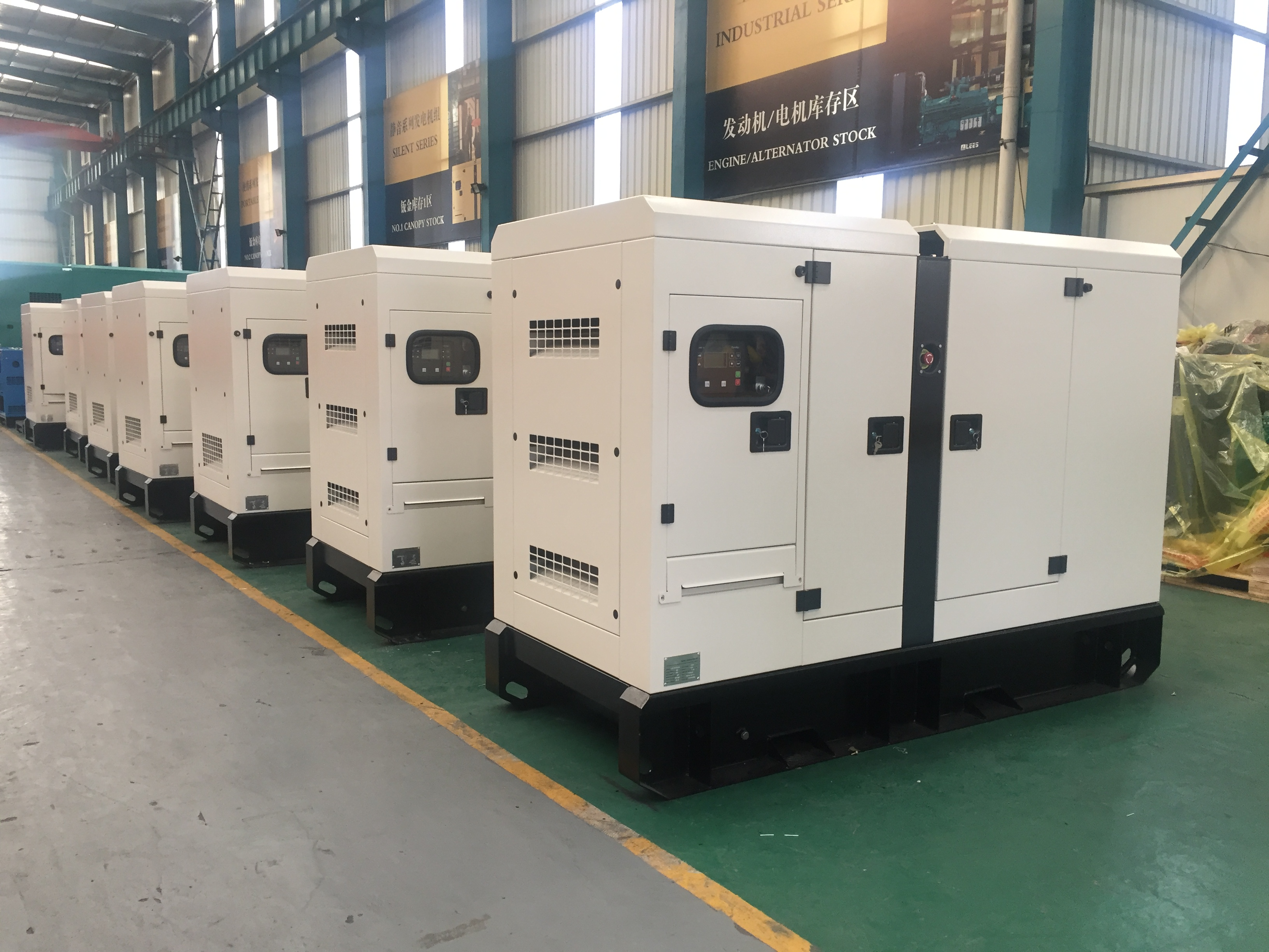 Lees Delivered generators to LIMA,PERU