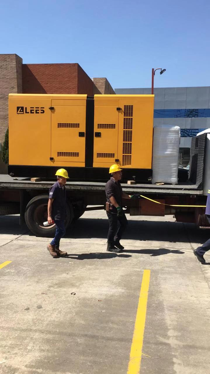 LEES 315KVA generator set delivered to Guatemala